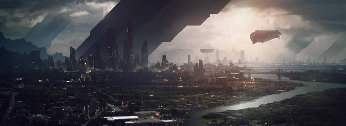 SF Landscape - tuto.com by Grivetart