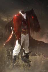 The Headless Horseman by Grivetart