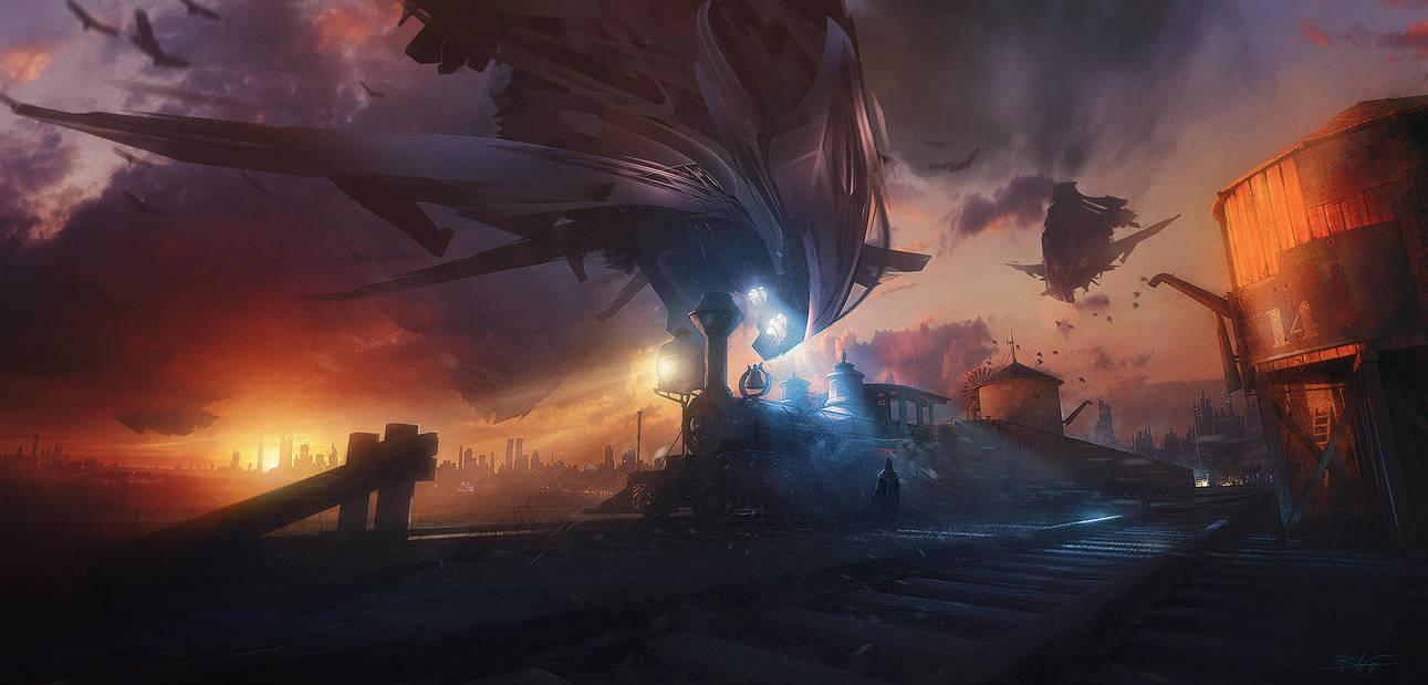 Steam Rebellion by Grivetart