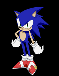 Mock Sonic Anime Design by RubyofBlue
