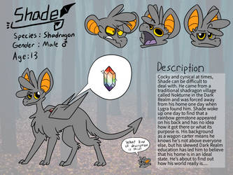 Shade Reference Sheet by EeveesAndDragons