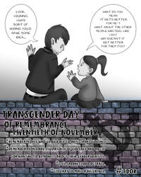 Transgender Day of Rememberance 2018 by Phantom-Theif-Neko