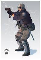 Mikolaj-Spionek-Police-Concept-art-1 by Mikolajj