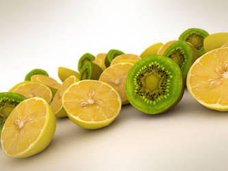 ZitronenKiwis by mailfor