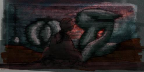 Traumschattendaemmerung by virra