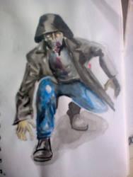 sketch of myself by oluklu