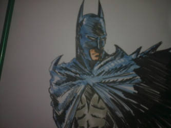 Batman Marker Sketch by oluklu