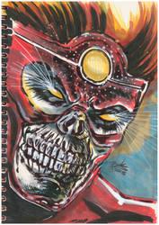 Fury from Firestorm DC New 52 by oluklu