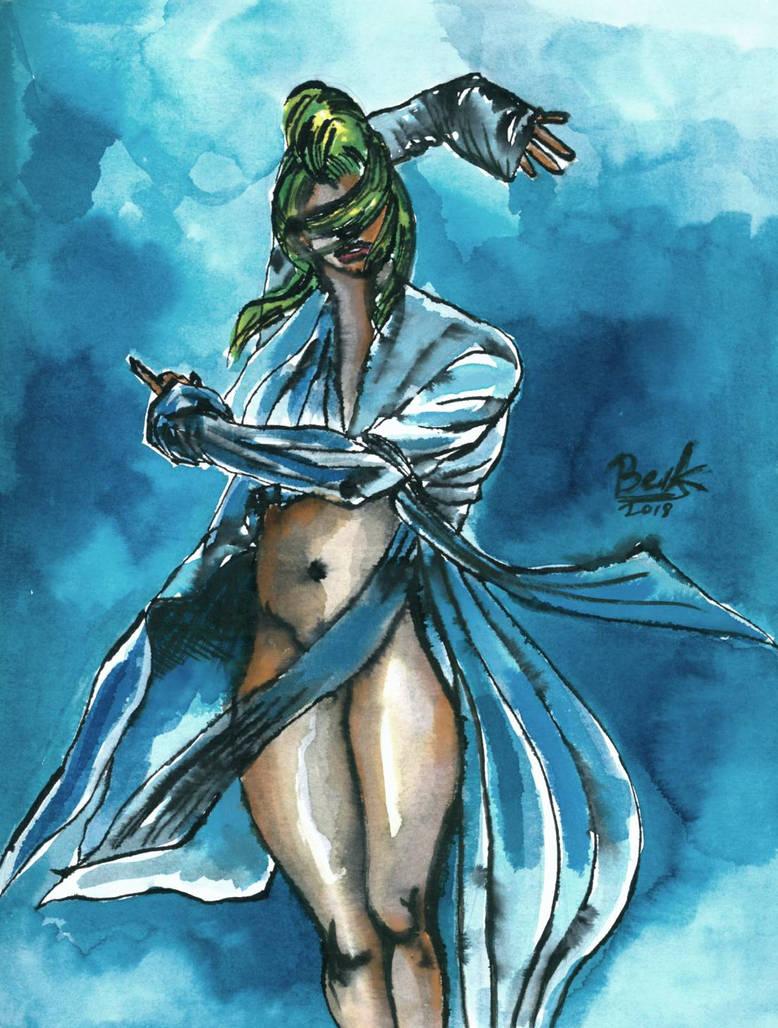 Comicbookgirl19  Allan Amato  by oluklu