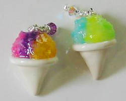 Snow Cone Zipper Charms by MandaBeads