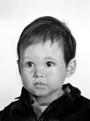 Cute little boy by MVVR