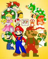 Super Mario 30 by Xero-J
