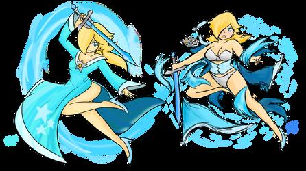 Rosalina: Soul Warrior by Xero-J