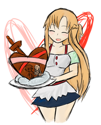 Asuna: Made With Love by Xero-J