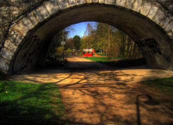 Under the Bridge HDR by Rayquin