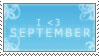 September by AraulsStamps
