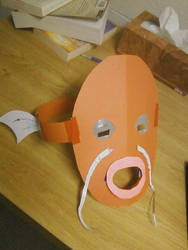 Magikarp mask by SteelOsprei