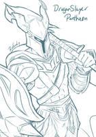 WIP LOL Dragon Slayer Pantheon by Aikoaku