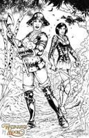 Wayfarer's Moon: The Heroes by dracolychee