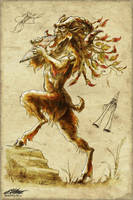 Rhapsody: Satyr by dracolychee