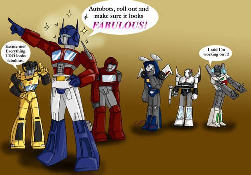 Autobots are FABULOUS by Ty-Chou