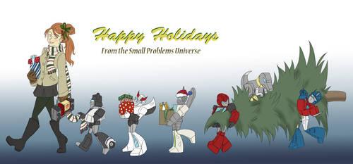 SPU: Happy Holidays by Ty-Chou