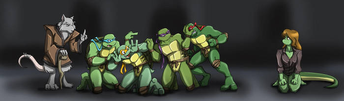 TMNT: Family by Ty-Chou