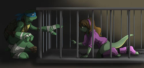 TMNT: Caged by Ty-Chou