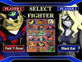 Swat Kats Selection Screen by Ty-Chou