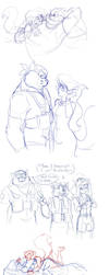 Swat Kats Sketch Dump by Ty-Chou