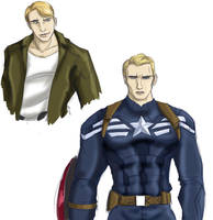 Captain America by Ty-Chou