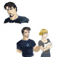 Tony Stark by Ty-Chou