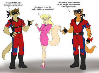 Once and Future Swat Kats II by Ty-Chou