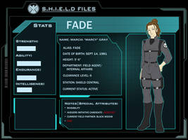 SHIELD Files: Fade by Ty-Chou