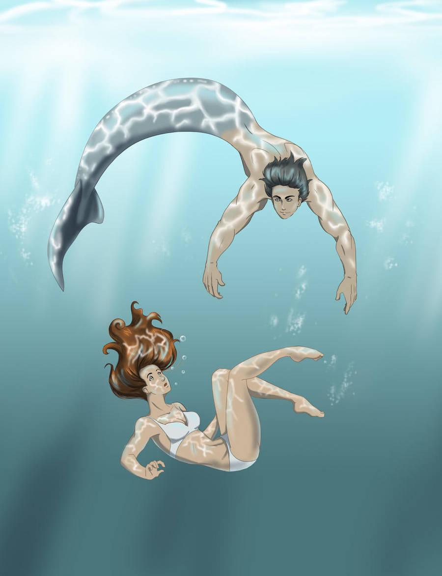 The Island of Mermaids by Ty-Chou