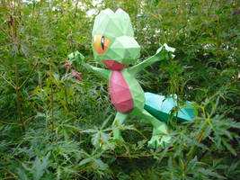 Treecko papercraft by TimBauer92