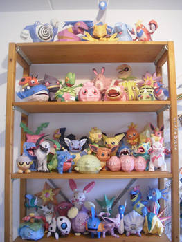 My pokemon papercrafts 2 by TimBauer92
