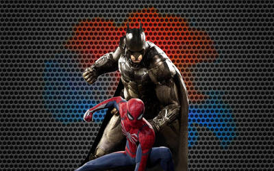 Batman and Spider-Man Wallpaper 6 by animeaful