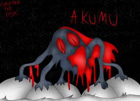 -fan art- AKUMU by CrisTheArtistFox