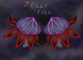 -fan art- JELLY FISH by CrisTheArtistFox