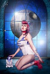 Star Wars Pin-up by falt-photo