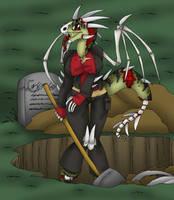 Grave Robber by AkuOreo