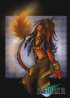 Red XIII Anthro by AkuOreo