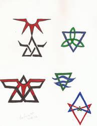 Symbols by LaLunaDiMorte
