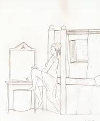 Awaiting Love's Return - WIP by LaLunaDiMorte