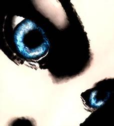 Lightning in her eyes... by Hanako-Hime