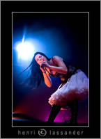 Amy Lee, Evanescence by henrimikael
