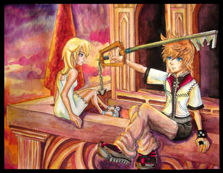 Reminisce: Roxas and Namine by EmilyCammisa