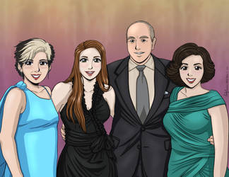 Rachel and Family Colored by EmilyCammisa