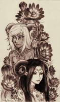 Kalim and Soma by EmilyCammisa